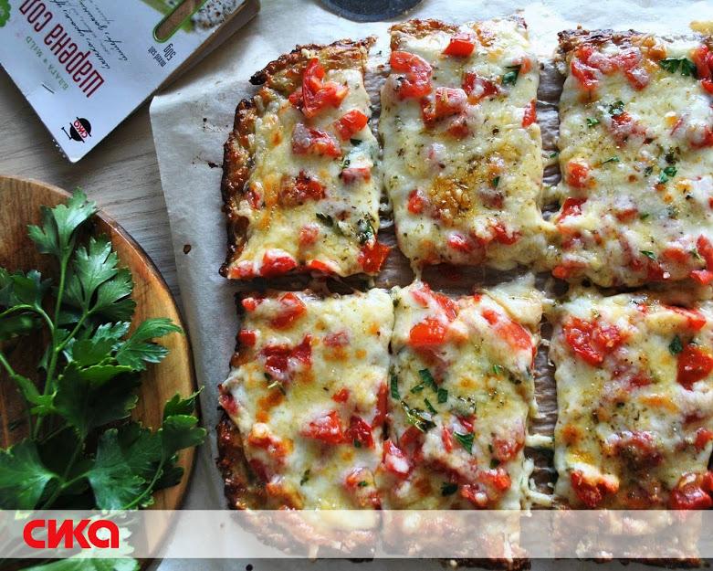 Брза пица од тиквички со кашкавал и шарена сол СИКА