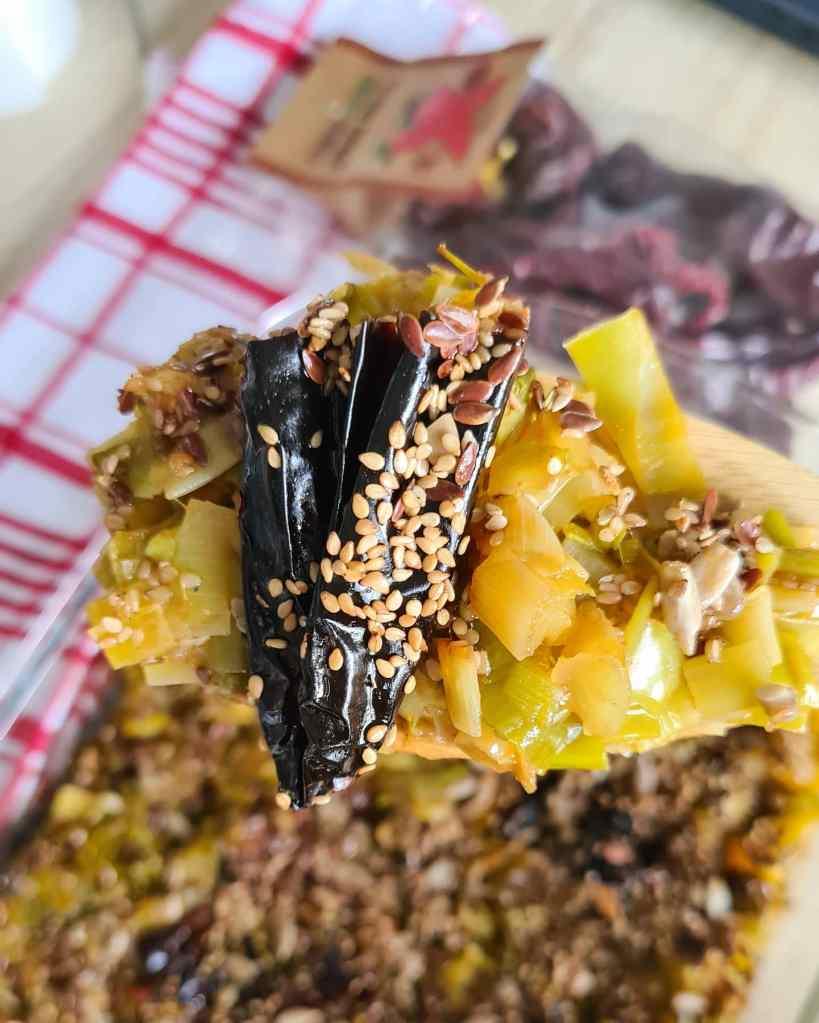 Посен ручек со праз и суви пиперки СИКА